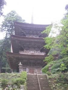 明通寺三重の塔